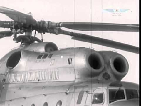 Mil Mi-10 helicopter - development history, photos
