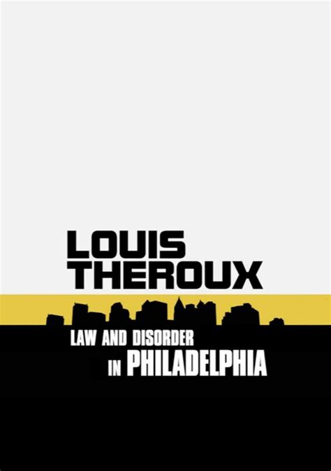 Louis Theroux: Law and Disorder in Philadelphia (2008
