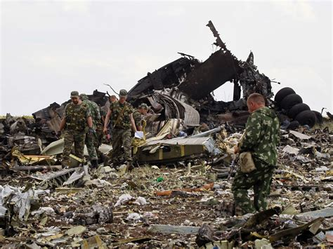 Pro-Russia Rebels Shoot Down Military Plane - Business Insider