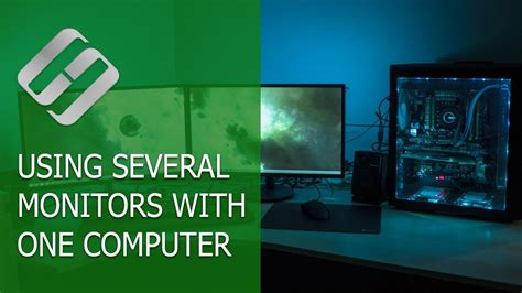 How to Use Several Monitors with One Computer in Windows
