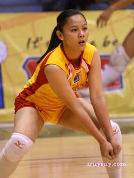 Mary Jane Pepito Sexy Volleyball Girl from SSC Recoletos