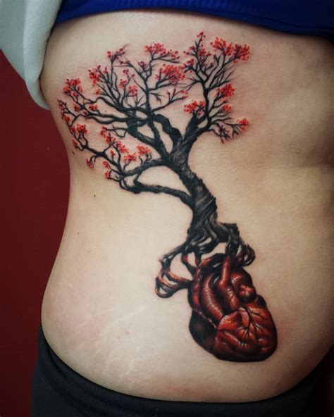 Gnarly tree roots and anatomical heart- John Embry