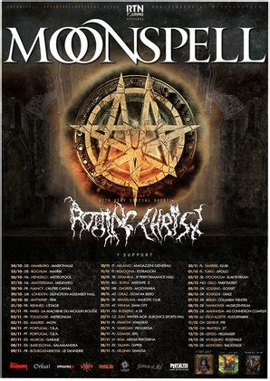 Moonspell Tickets, Tour Dates & Concerts 2021 & 2020