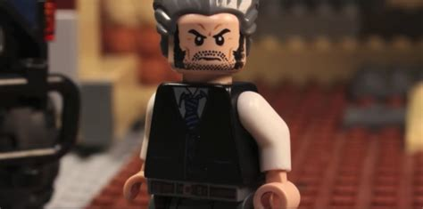 "Somebody made the ""Logan"" trailer in Lego form and it's"