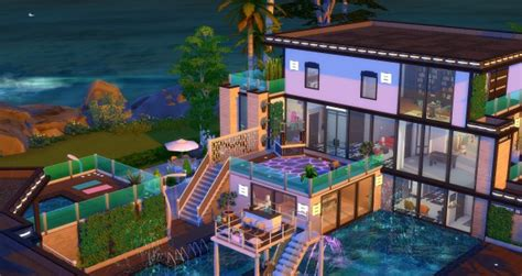 Studio Sims Creation: Caraïbes house • Sims 4 Downloads