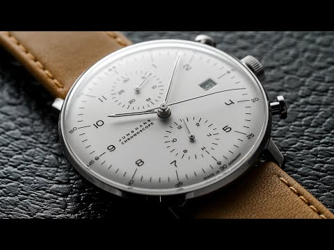 Junghans Max Bill Chronoscope – Windup Watch Shop
