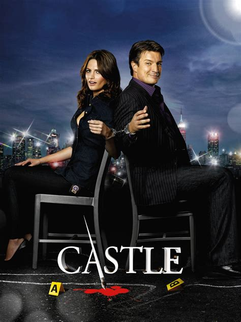 Castle TV Series, Nathan Fillion, Stana Katic and Cast