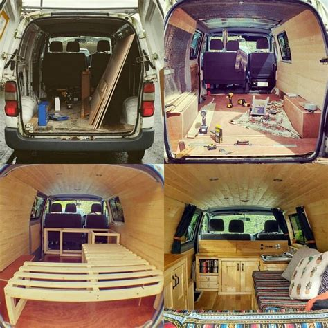 40+ Creative Van Home Ideas | Camper van conversion diy