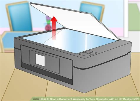 How to Scan a Document Wirelessly to Your Computer with an