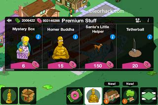 The Simpsons Tapped Out Hack Unlimited Donuts And Money v4