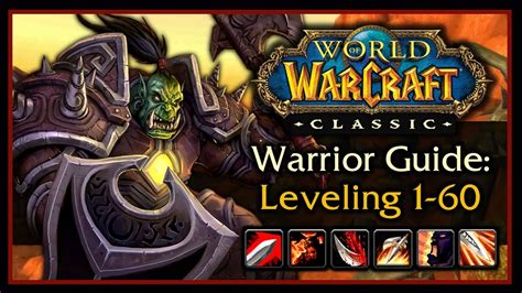 Classic WoW: Warrior Leveling Guide 2