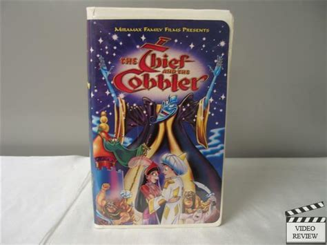 The Thief and the Cobbler VHS (Clamshell) with Vincent