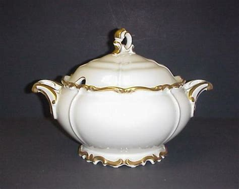 EDELSTEIN BAVARIA MARIA THERESIA COVERED SOUP TUREEN GOLD