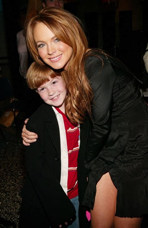Photo: Lindsay Lohan's Little Brother Is All Grown Up Now