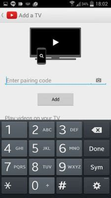 Control YouTube videos on the big screen using your phone
