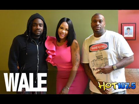 Nigerian-American Rapper, Wale Shares Adorable Photo With