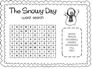 The Snowy Day pack {FREE!}   The snowy day book, Snowy day