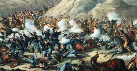 Native American Warriors and Battles Pictures - Native