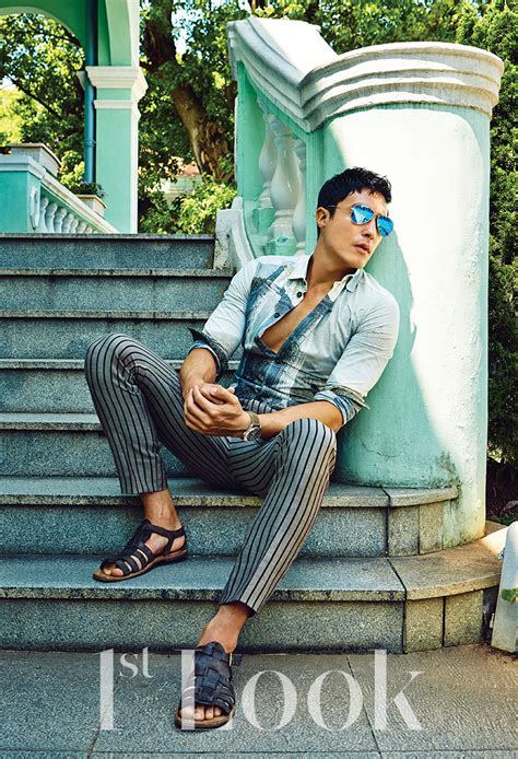 Daniel Henney Models Summer Styles for 1st Look | The
