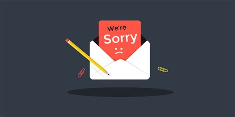 The Art of Saying Sorry - How to write a Customer Service