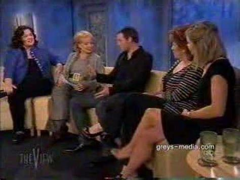 Justin Chambers on The View - YouTube
