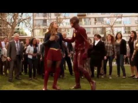 Supergirl and The Flash - You Belong with Me Music Video