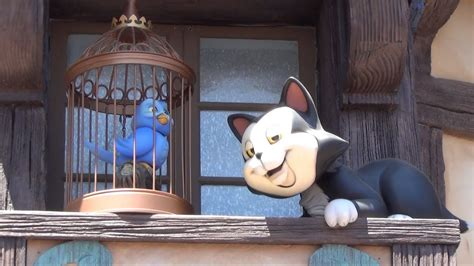 Figaro the Cat and Bird Animatronic from Pinocchio in