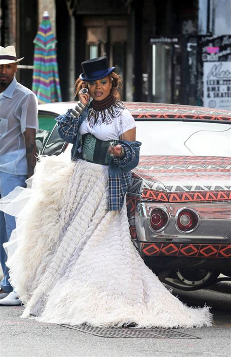 Janet Jackson shoots new music video in Brooklyn