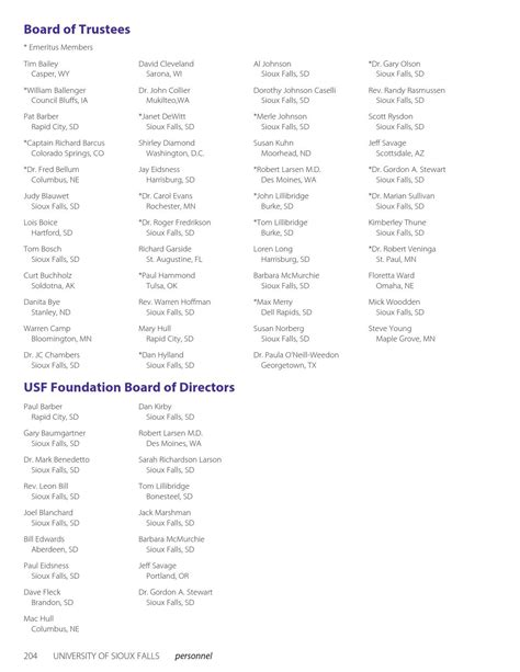 2015-2017 USF Academic Catalog by University of Sioux
