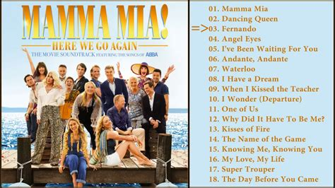 Simple Tutorial for Dummies: Mamma Mia Songs List