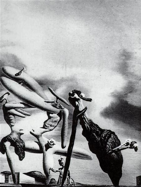 Cannibalism of the Praying Mantis of Lautreamont, 1934