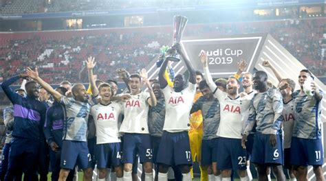 Football: SPURS WIN AUDI CUP