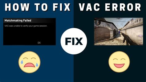 vac was unable to verify your game session FIXED - YouTube