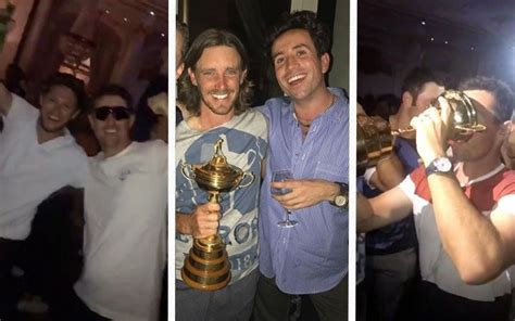 Inside Europe's Ryder Cup celebrations: Rory McIlroy