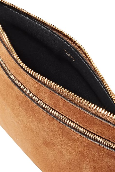 Theory Suede Belt Bag - Lyst