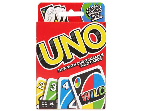 UNO Card Game   Boxed
