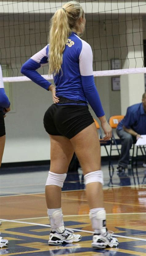 phatbootycuties: volleyball booty (pawg) Yes