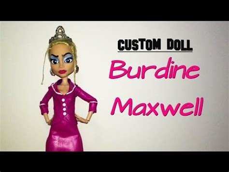 How to make a Burdine Maxwell doll (From BRATZ) - YouTube