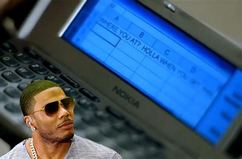 Nelly Refuses to Admit That Kelly Rowland Was Texting with