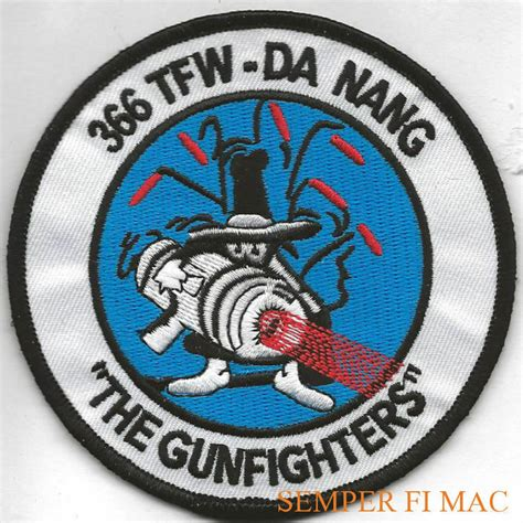 366TH TFW THE GUNFIGHTERS F-4 PHANTOM PATCH US AIR FORCE