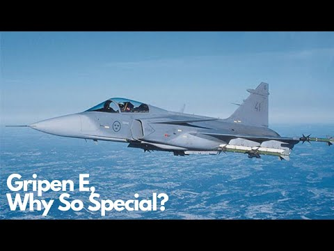 The Gripen E is Saab's attempt to outdo the F-35 - We Are