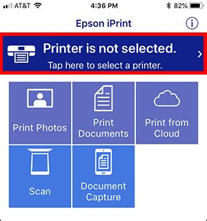 Setting Up the Epson iPrint App for iOS | Epson US
