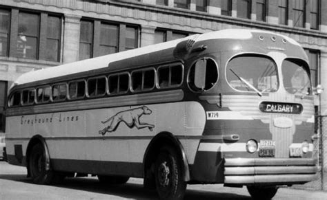 Trailways Bus History | greyhound bus routes 1950s | Buses