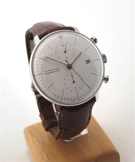 WTB Max Bill Chronoscope by Junghans