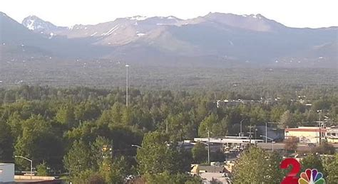 High winds tonight and tomorrow around Anchorage
