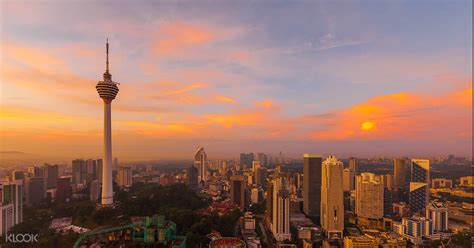 KL Tower in Malaysia (Observation Deck) Cityscapes from an