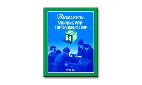 """Backgammon-bok 196 s """"Winning with the Doubling Cube"""""""""""