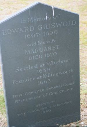 Edward Griswold (1607-1691) | WikiTree FREE Family Tree