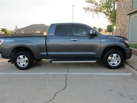 Buy used 2007 Toyota Tundra 4x4 Double Cab Limited in USA