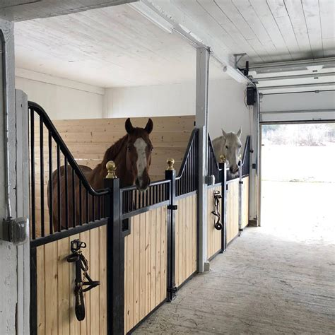 Tuscany Horse Stall Front | Horse Stalls | Stalls | Ramm Fence